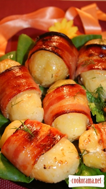 Картофель в обертках
