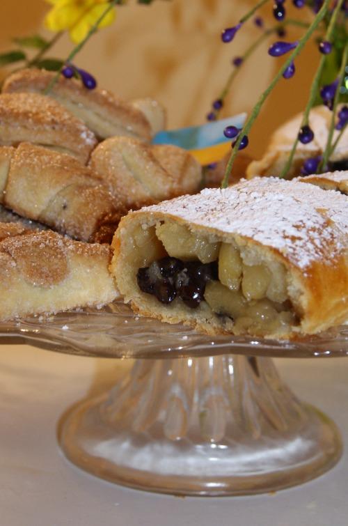 Творожное тесто - завиванець, печенье и рогалики