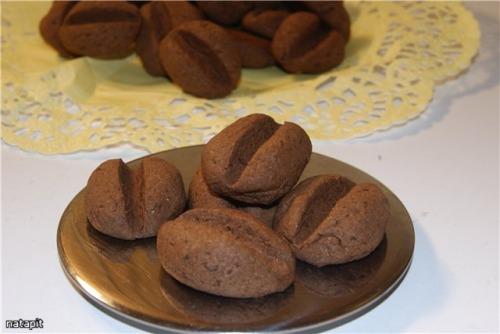 """Печиво """"Кавові зерна з шоколадом"""""""