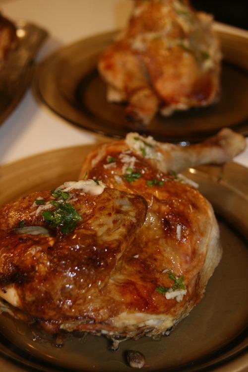 Курчата з часниковим соусом