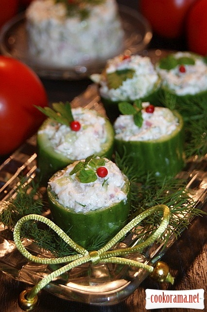 Египетский салат с сыром фета