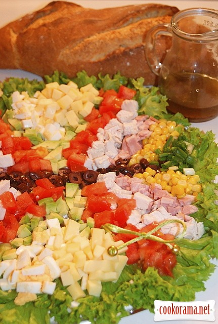 Кобб салат (Cobb Salad)