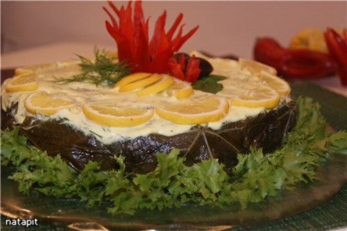 М'ясний торт