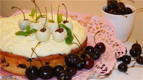"Вишнево-черешневый пирог ""Алиса"""