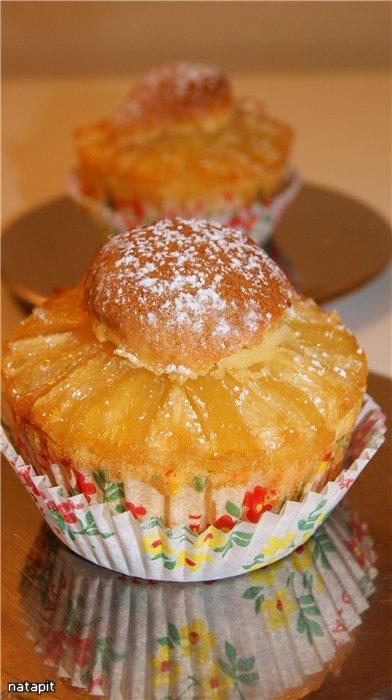 Ананасовые миндальные бисквиты + рецепт миндальной пасты