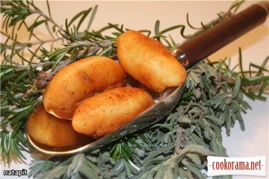 "Пирожки-миньон с грибами ""Жульен"""
