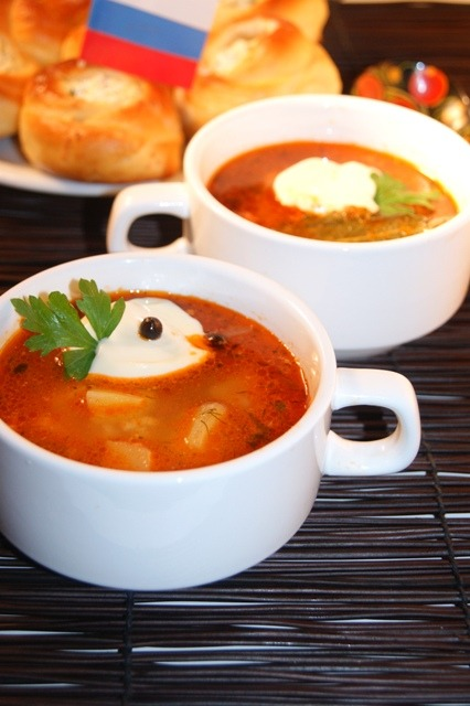 Kuban garlic soup