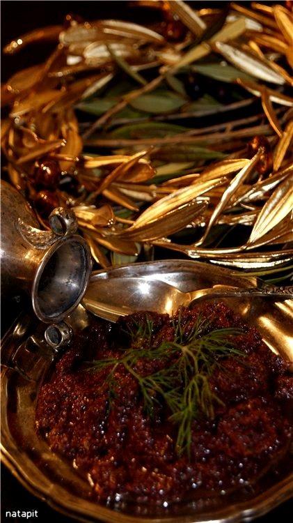 Пате-тапенад из маслин