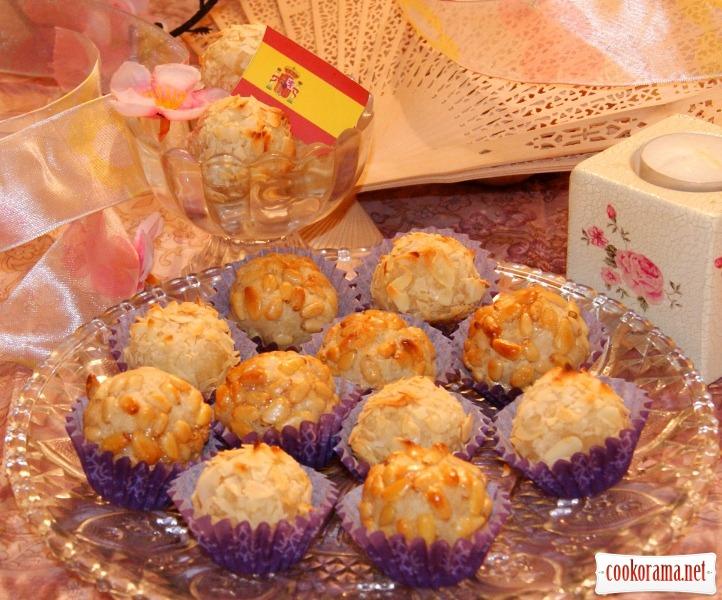 Каталонское печенье «Panellets»