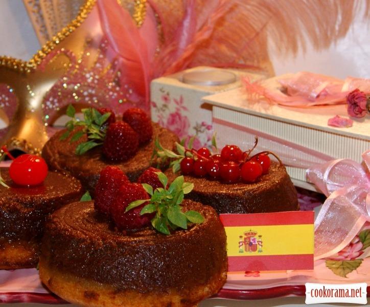 Пирожное «Бизкошокофлан»