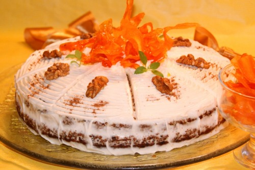 """Мой любимый """"Морковный торт"""""""