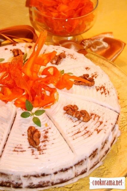 Мой любимый «Морковный торт»