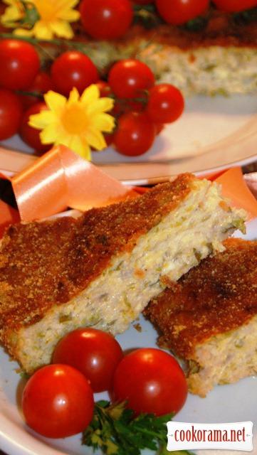 Запіканка з кабачків в середземноморському стилі