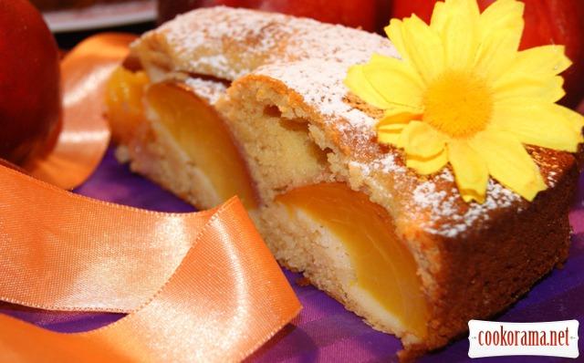 Медовий пиріг з нектаринами