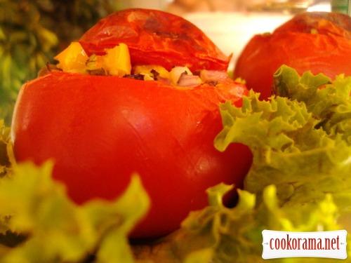 Stuffed tomatoes «Mediterranean»