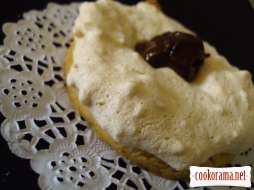 Белково-песочное пирожное «Ностальгия»