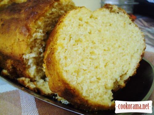 Пикантный кукурузный кекс-хлебец
