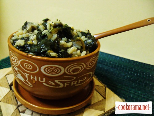 СПАНАКОРИЗО (шпинат с рисом)