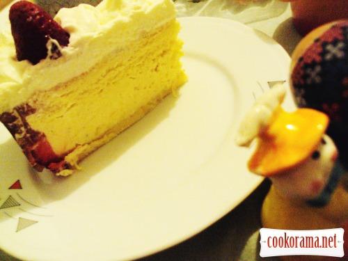 Клубнично-манговый торт «Экзотик»