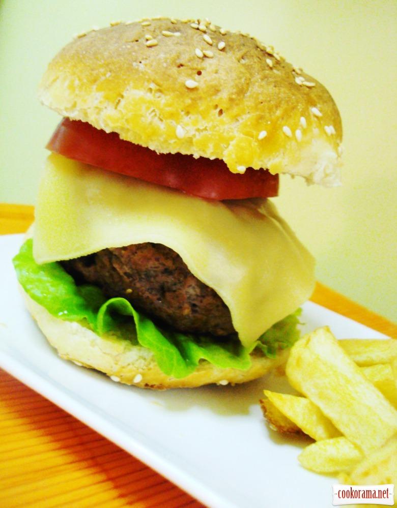 чизбургер как в макдональдсе рецепт с фото привет начну