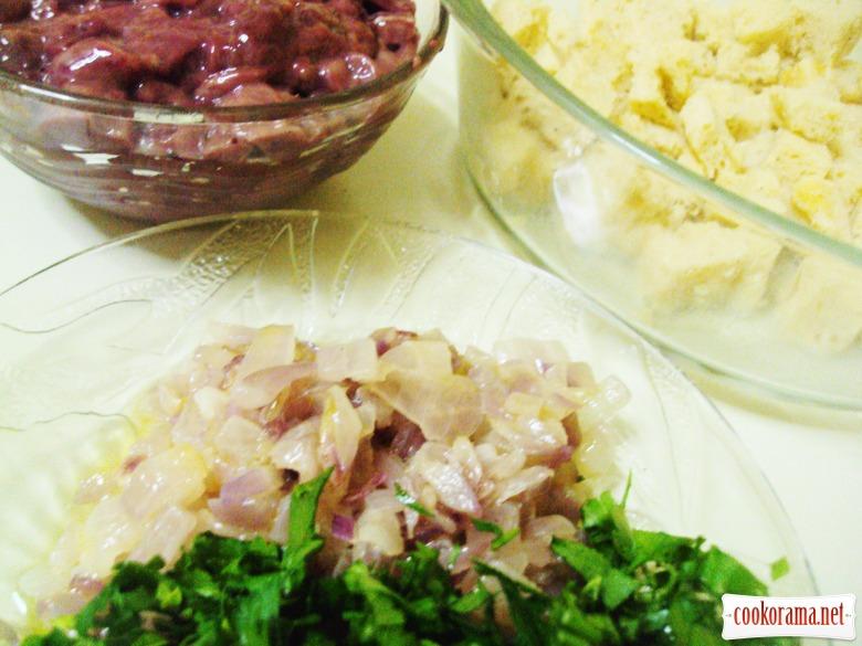 Фаршированная курица (рецепт выходного дня).