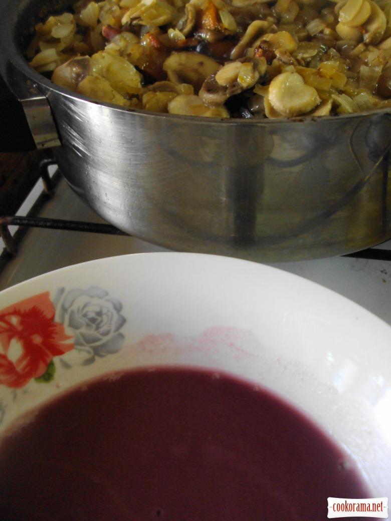 Петушок в вине (Cog Au Vin).