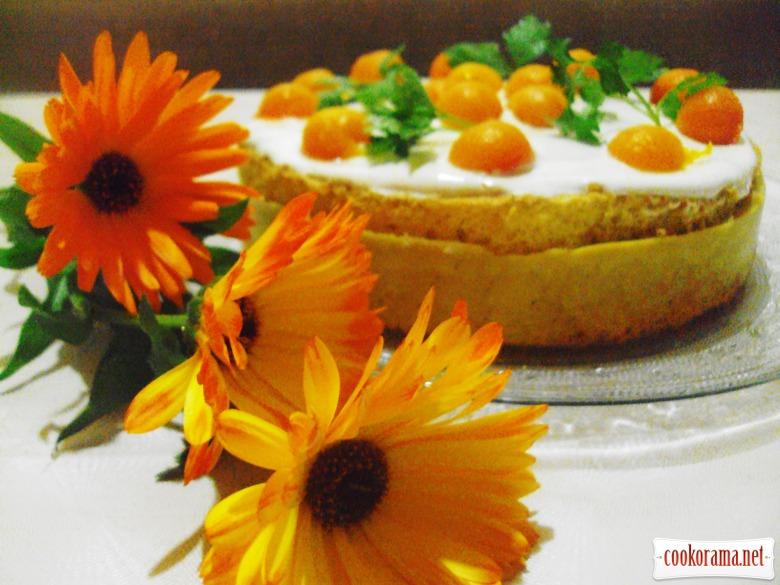 Тыквенный торт «Гармония».