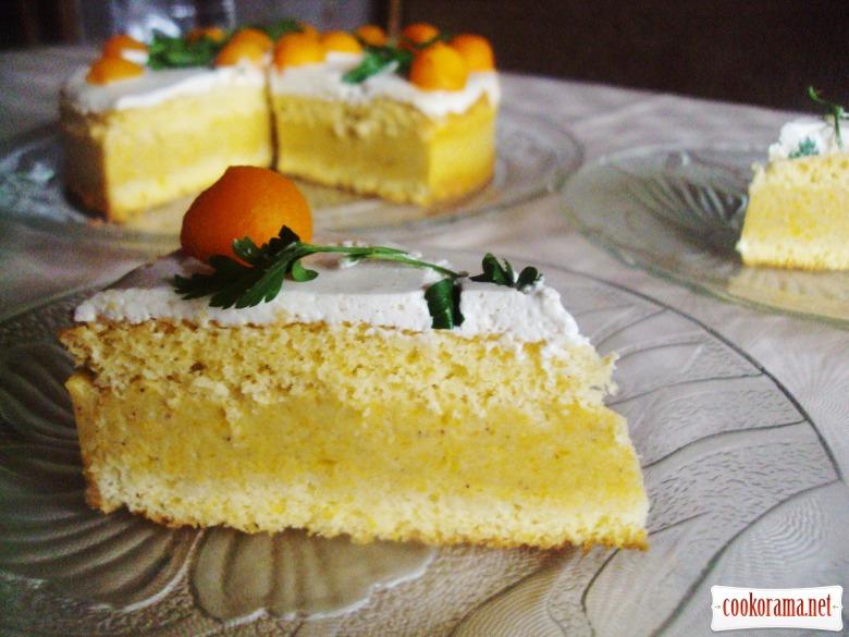 Тыквенный торт «Гармония»