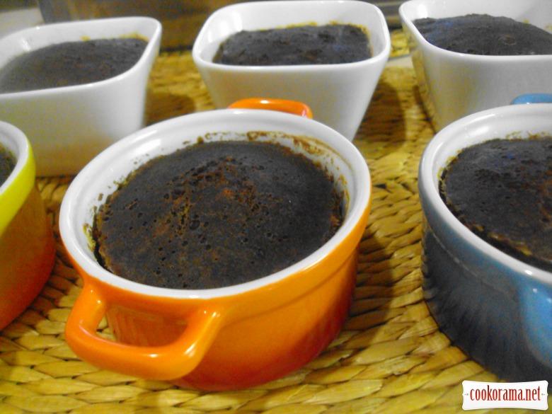Caramel-coffee biskoflan.