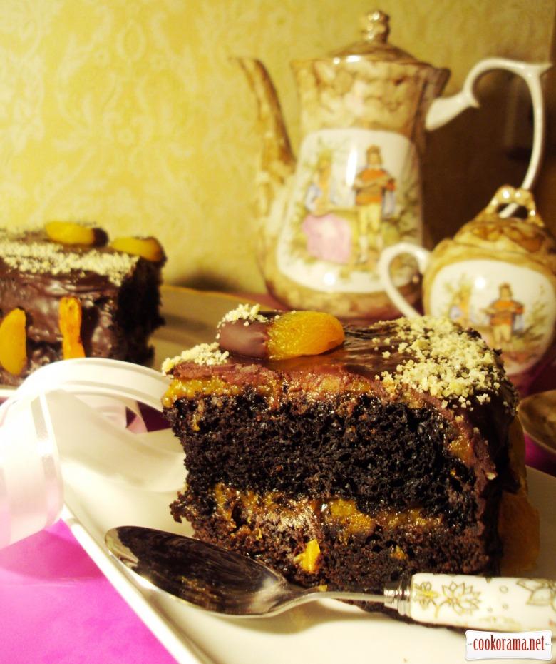 Торт «Постный Захер»
