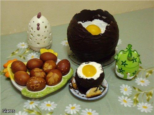 Шоколадные яйца