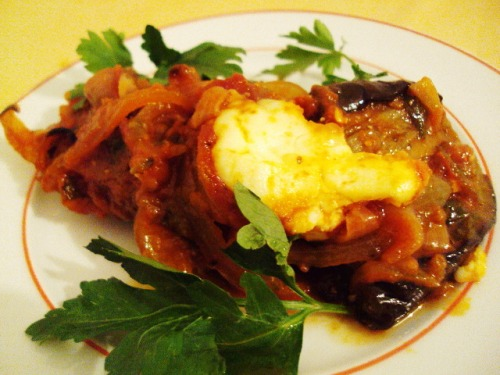 Имам баилди (как готовят его в Греции)