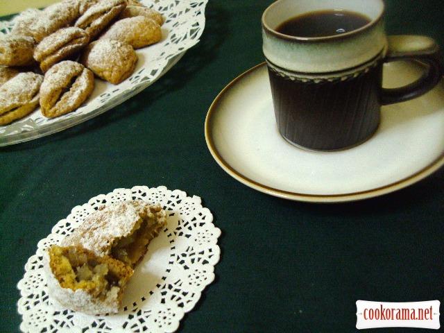Мілопітакья (пиріжки з яблуками)
