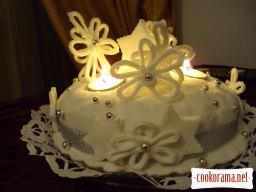 "Christmas cake ""The Winter's Tale"""
