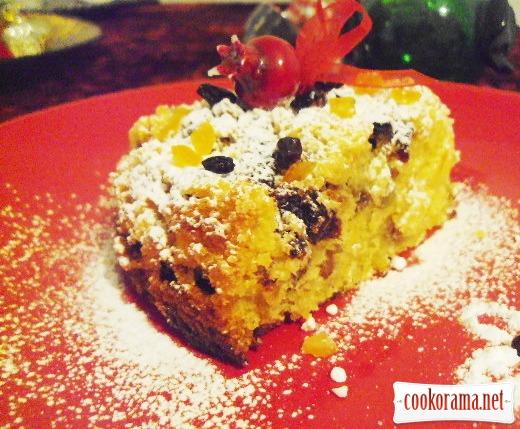 Фануропита - постный кекс