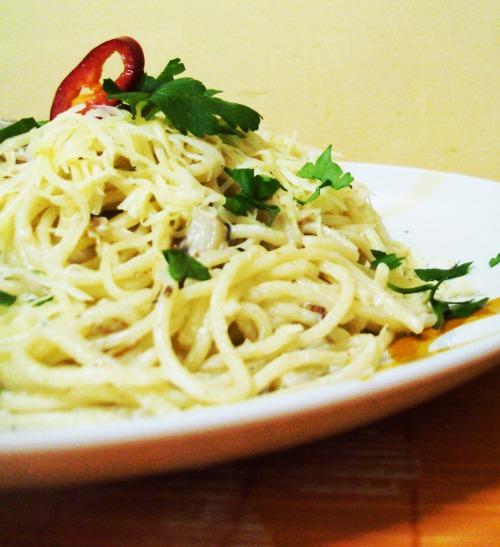 """Спагетті """"алла карбонара"""""""