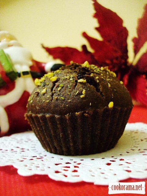 Кофейно-шоколадные маффины (постные)