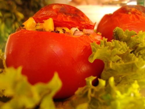 "Stuffed tomatoes ""Mediterranean"""