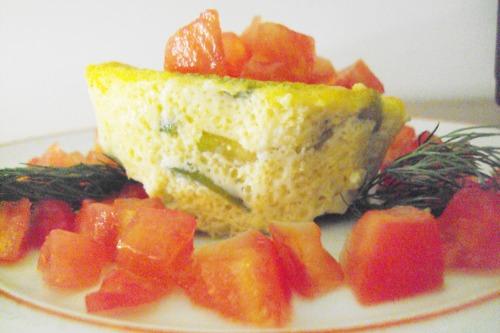 Суфле с кабачками