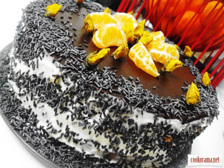 Торт для Дракоши