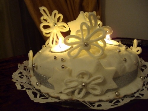 """Різдвяний кекс """"Зимова казка"""""""