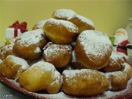 Пончики постные