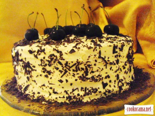 """Торт """"BLACK FOREST"""" - літній варіант"""