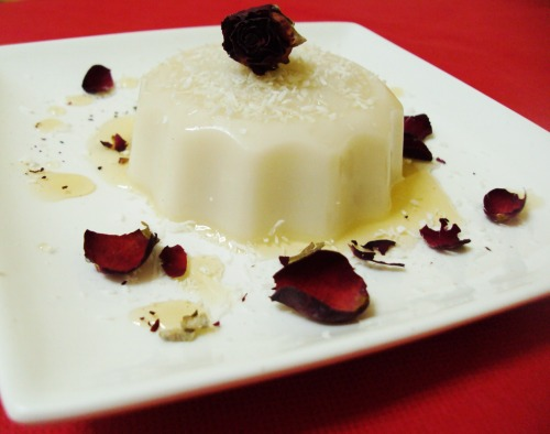 "Panna Cotta ""Coconut delight"""