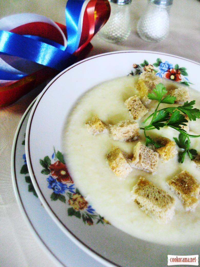 Суп велюте из цветной капусты