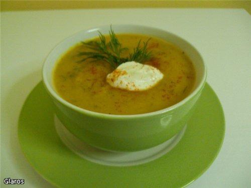 Бархатный тыквенный суп