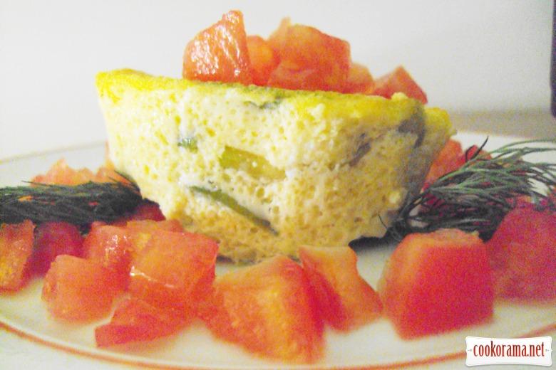 Суфле з кабачками