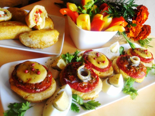 TAPAS - traditional Spanish appetizers