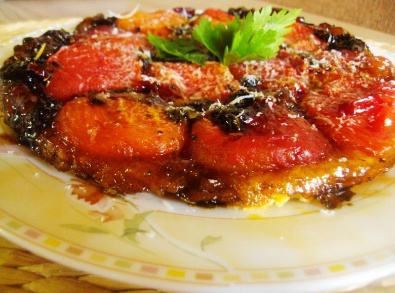 Тарт татен с томатами