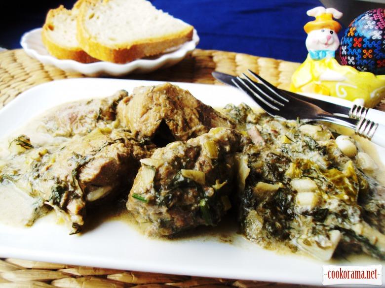 Фрікасе з яловичини